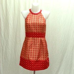 Orangish Red Ali Ro Dress Size 6
